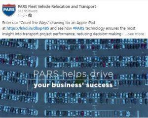 PARS helps drive business success